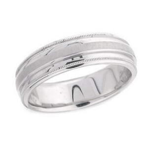 4827 - 6.25 Mm  Wedding Ring 8.2 Grams