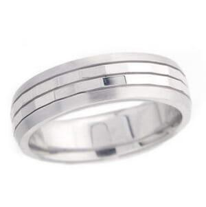 4852 - 6 Mm  Wedding Ring 9.5 Grams