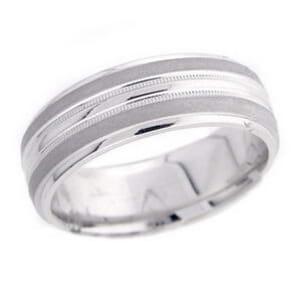 4857 - 7 Mm  Wedding Ring 9.7 Grams