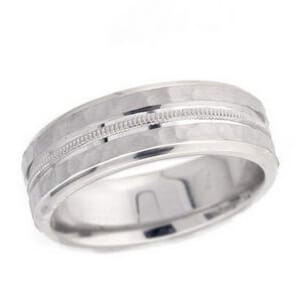 4892 - 7 Mm  Wedding Ring 10.1 Grams