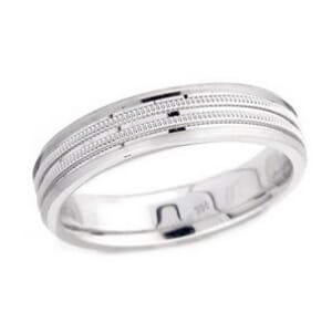 4897 - 5 Mm  Wedding Ring 7.3 Grams