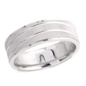 4912 - 7 Mm  Wedding Ring 10.6 Grams