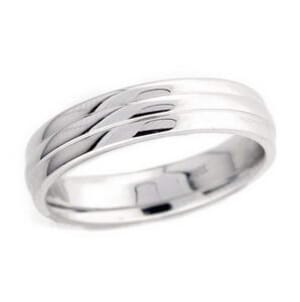4917 - 5 Mm  Wedding Ring 6.9 Grams