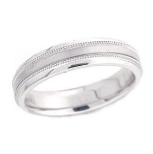 4922 - 5 Mm  Wedding Ring 7.4 Grams