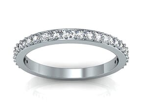 5007 - 0.40 Carat Round Brilliant Diamond Wedding Band