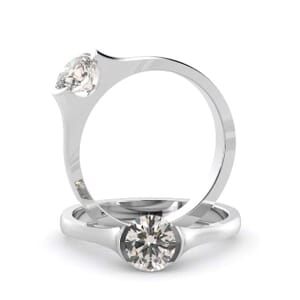 5111 -  Solitaire Diamond Engagement Ring