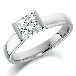 5131 -  Solitaire Diamond Engagement Ring