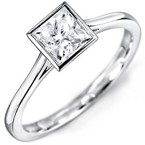 5141 -  Solitaire Diamond Engagement Ring