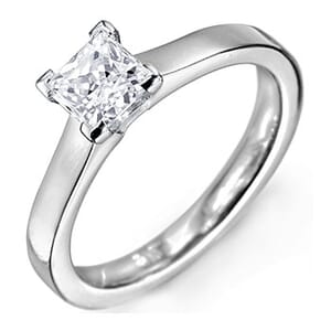 5146 -  Solitaire Diamond Engagement Ring