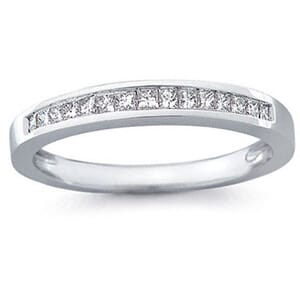 5161 -  Channel-Set Princess-Cut Diamond Band (1/2 Ct. Tw.)
