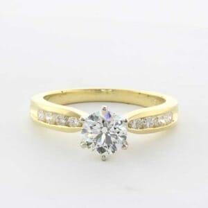 5292 - diamond engagement ring setting