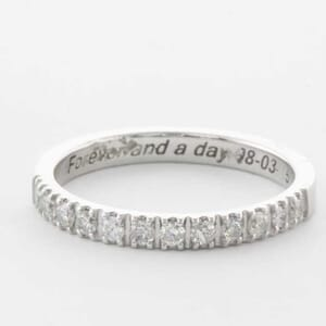 5304 - diamond matching wedding ring