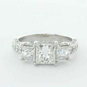 5308 - diamond engagement ring setting
