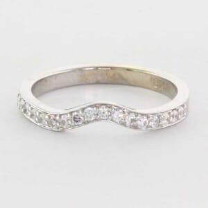 5333 - Finger print wedding ring