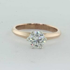 5402 - knife edge solitaire engagement ring