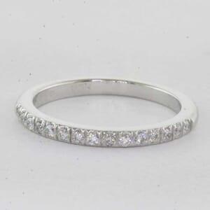 5408 - round brilliant diamonds set in matching wedding ring