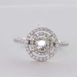 6432 - Eye Catching Sparkling Diamond Ring