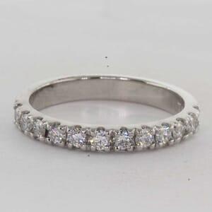 7268 - 0.60 Carat Round Brilliant Diamond Ring