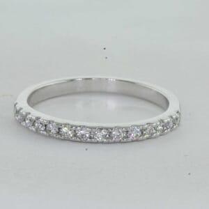 7275 - Shared Prongs Diamond Wedding Ring