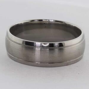 7281 - 7mm Titanium Wedding Ring