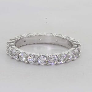 7295 - Classic Shared Prong Diamond Eternity ring
