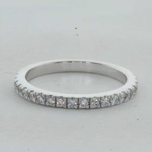 7304 - Matching Diamond Wedding Ring 0.35 Carat