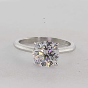 7315 - 1.6mm Solitaire Ring With Square Prongs