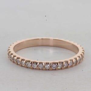 7329 - 0.40 Carat Eternity Diamond Ring
