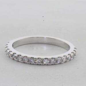 7330 - 0.31 Carat Diamond Wedding Ring F SI
