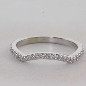 7342 - Matching Curved Wedding Ring
