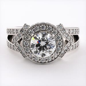 5293 - diamond engagement ring setting