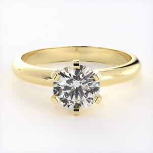 5089 - Solitaire Engagement Ring