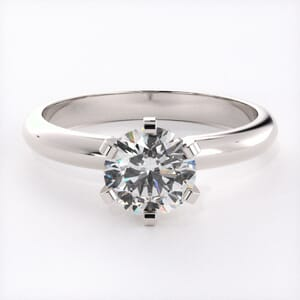 5086 - Solitaire Engagement Ring