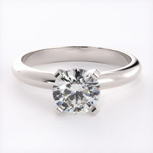 5091 - 4 Prongs Solitaire Ring