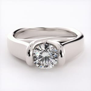 1567 - Stylish Solitaire Engagement Ring