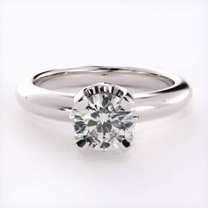 1577 - Classic Solitaire Engagement Ring