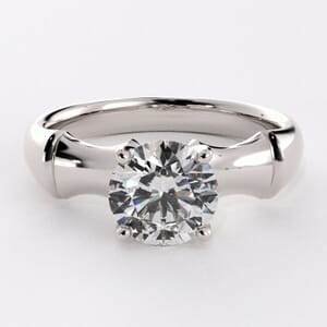 1662 - Stylish Solitaire Engagement Ring