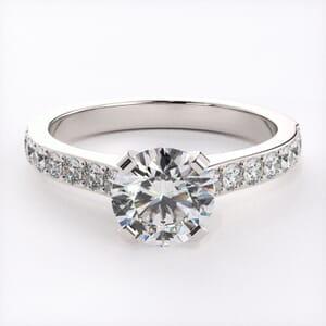 3142 - Elegant Diamond Engagement Ring