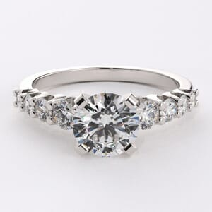 3152 - Beautiful Diamond Engagement Ring