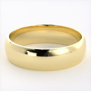 5195 - Comfort Fit Wedding Ring in  (6mm)