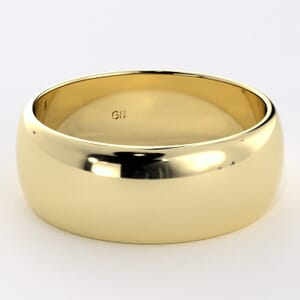 5225 - Classic Half-Round Wedding Ring in  (7mm)