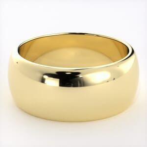 5230 - Classic Half-Round Wedding Ring in  (8mm)