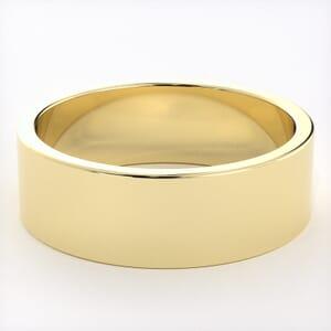 5260 - Light Flat Mens Wedding Ring in  (6mm)