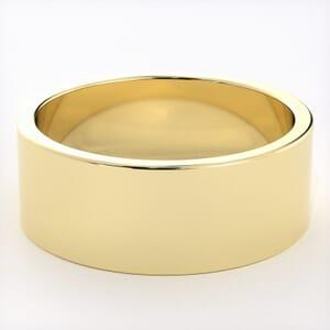 5265 - Light Flat Mens Wedding Ring in  (7mm)
