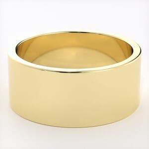 5270 - Light Flat Mens Wedding Ring in  (8mm)