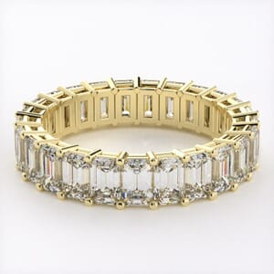 5280 - Emerald Cut Diamond Eternity Ring (5.50ct tw)