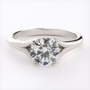 5991 - Solitaire Diamond Ring